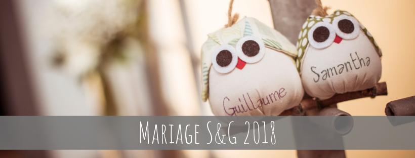 Mariage S & G 2018