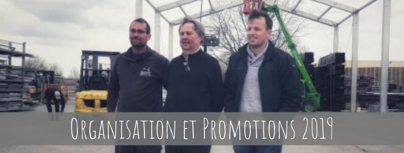 Organisation et Promotions 2019