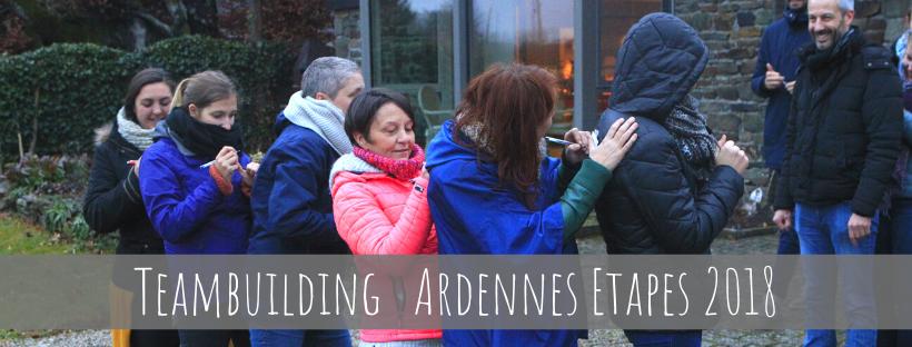 Teambuilding Ardennes Etapes 2018